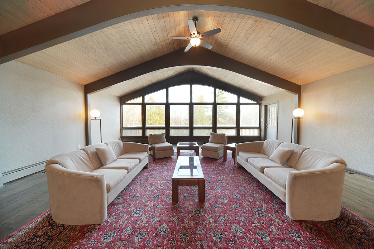 Private reception area in whispering pines at roaring brook ranch resort